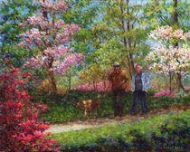 In the Azalea Garden by Susan Savad