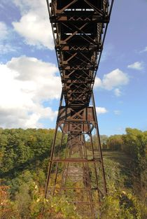 Autumn Trestle 3, 2015 by Caitlin McGee