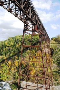 Autumn Trestle 2, 2015 by Caitlin McGee