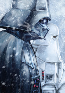 Darth Vader WInter by Tobias Goldschalt