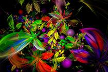 Fraktaler Dschungel by Viktor Peschel