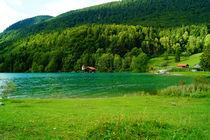 Walchenseebucht bei Sachenbach von Sabine Radtke