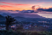 Sunrise Santa Cruz de Tenerife von Moritz Wicklein