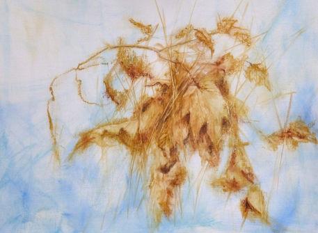 Oelgemaelde-helen-lundquist-herbstblaetter