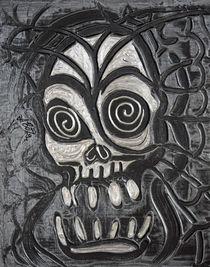 Gunmetal Skull by Laura Barbosa