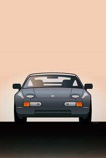 Modern Euro Icons Series Porsche 928 GTS von monkeycrisisonmars