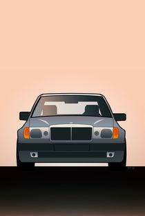 Modern Euro Icons Series Mercedes Benz W124 500E by monkeycrisisonmars