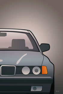 Modern Euro Icons Series Bmw E32 740i (Split) by monkeycrisisonmars