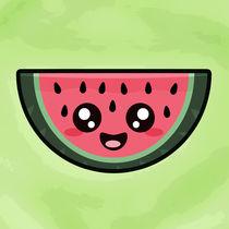 Cute Watermelon von kawaii