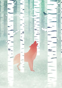 Winter Fox von Sybille Sterk