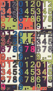 Digits by Leopold Brix