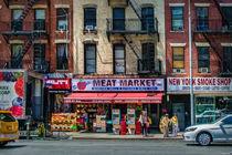 Manhattan Meat Market von Stuart Row