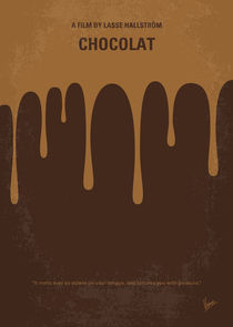 No567-my-chocolat-minimal-movie-poster