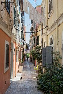 Malerische Gasse, Korfu by Norbert Probst