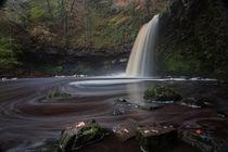 Lady Falls Sgwd Gwladus waterfall von Leighton Collins