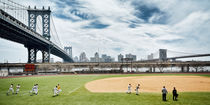 New York Baseball Field near Manhattan Bridge by Thomas Schaefer  (www.ts-fotografik.de)