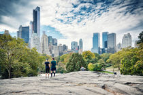 New York Central Park and Skyline by Thomas Schaefer