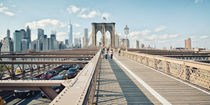 Brooklyn Bridge New York / Manhattan  von Thomas Schaefer