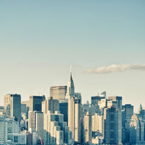 New York City / Manhattan Skyline Midtown von Thomas Schaefer