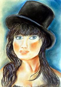 Mädchenportrait von Irina Usova