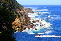 Küste im Tsitsikamma Nationalpark in Südafrika by Marita Zacharias
