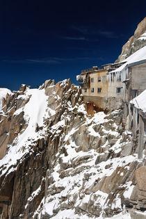 building in Aiguille du Midi - Mont Blanc by Antonio Scarpi