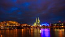 Kölner Lichter am Abend by Denis Wieczorek