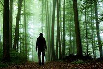 Green Forest, Nature, Man, peace von Sebastian von Pückler