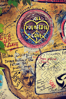 John Lennon Street in St. Petersburg, Russia by remioniart