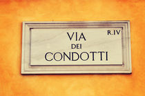 Via dei Condotti  by remioniart