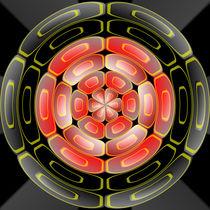 Semi-transparent algorithmic art by Gaspar Avila