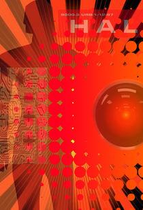 HAL9000 COMPUTER by MICHAEL EDDINGTON