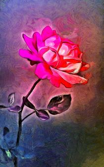 Electro Rose by GabeZ Art