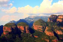 Three Rondavels – Panoramaroute in Südafrika by Marita Zacharias