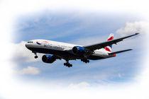 British Airways Boeing 777 by David Pyatt