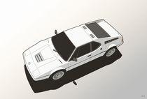 BMW M1 E26 White von monkeycrisisonmars