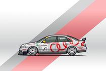 Audi Sport A4 Quattro B5 BTCC Super Touring Car by monkeycrisisonmars