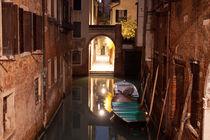Nachtruhe in Venedig von Christian Hallweger