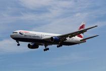 British Airways Boeing 767 by David Pyatt