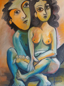 Das Mädchen und der Künstler von galeriequici