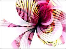 Digital Fraktale Blume by bilddesign-by-gitta