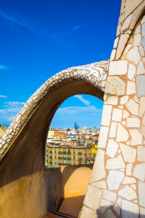 La Pedrera by Antoni Gaudi in Barcelona by La Municipal de Barcelona
