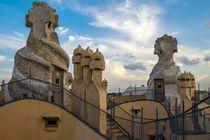 La Pedrera by Antoni Gaudi in Barcelona by La Municipal de Barcelona