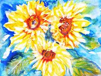 Sonnenblumen von Irina Usova