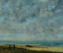 The Sea von Gustave Courbet