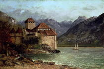 The Chateau de Chillon von Gustave Courbet