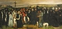 Burial at Ornans von Gustave Courbet