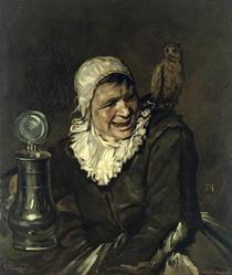 Malle Babbe von Gustave Courbet