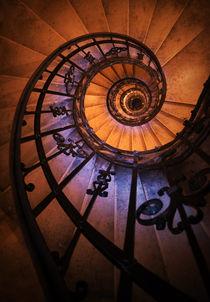 Ornamented spiral staircase von Jarek Blaminsky