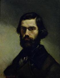 Portrait of Jules Valles  von Gustave Courbet
